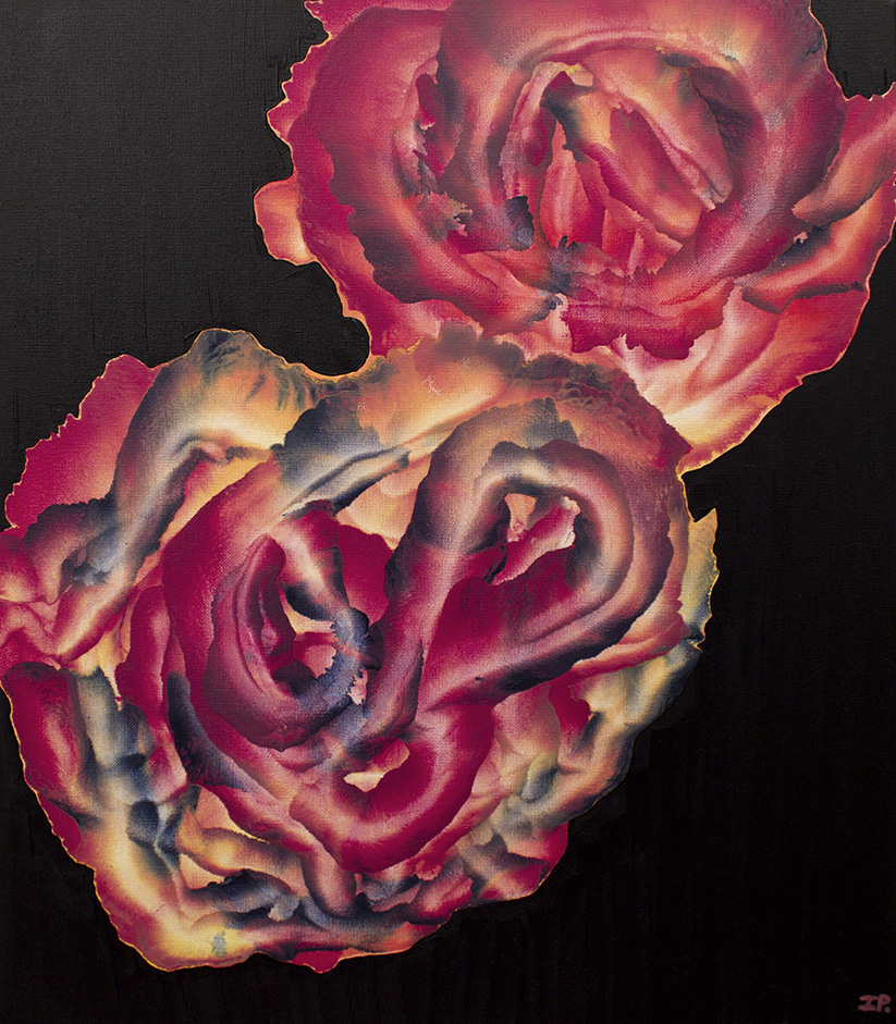My Summer Roses Oil on canvas, 2010. 50 x 61 cm SOLD